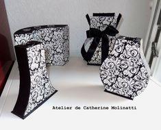 Modèles d'Anne Lardy ,de l' Éclat de verre et moi même pour les deux de devant.