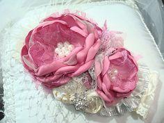 Eau So French Dusty Rose Baby Girl Flower by lepetitejardin