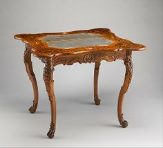 Card table Date: ca. 1745–50