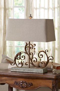 PORTE SCROLL LAMP $398.95