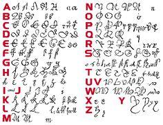 Oud handschrift