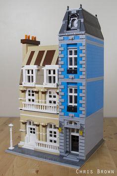 LEGO Bricksburg Inspired Modular