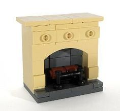 BrickLink MOC Item : Fireplace - Design 2