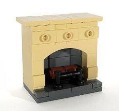 BrickLink MOC Item : Fireplace - Design 2