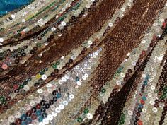 Large Sequins Nude/Flesh dresses, dance wear belly dancing Party dress sparkling wedding trimming photography proms Fabric Per Metre Ladies Dresses, Dance Dresses, Sparkle Wedding, Sequin Fabric, Fabric Online, Belly Dance, Dance Wear, Dancing, Party Dress