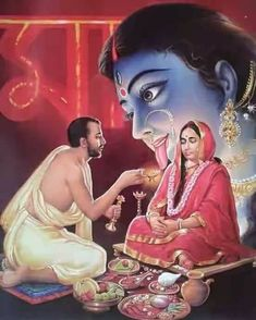 Q:- What shall one pray for spiritual progress ? Shri Ramakrishna :- Pray to the Divine Mother, begging Her to give you unswerving Love and… Kali Shiva, Shiva Hindu, Hindu Deities, Hindu Art, Durga Puja, Durga Images, Lakshmi Images, Lord Krishna Images, Krishna Pictures