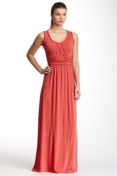Crisscross Maxi Dress