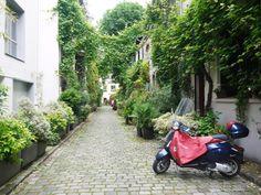 La villa Santos Dumont dans le 15e arrondissement de Paris