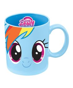 Look at this My Little Pony 'Rainbow Dash' 12-Oz. Mug on #zulily today!
