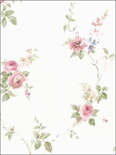 Gorgeous - Floral Trail Roses Wallpaper Brand: Norwall Book: Rose Garden Item #:WTG-100613