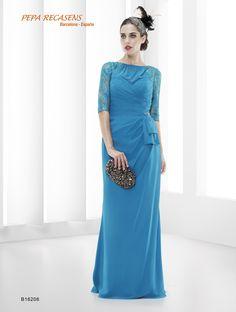 Vestido de madrina Pepa Recasens modelo B16206