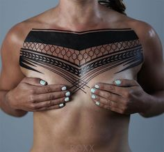 Cool Minimalist Geometric Tattoos By Roxx