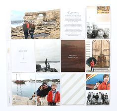 Documenting each of our trips with a single pocket page layout usually means including lots of photos, which can make keeping things simple a challenge. Here's how I keep my pages (and my process) as streamlined and minimal as possible when I'm including lots of photos. Here's the layout I'm working with for this post, …