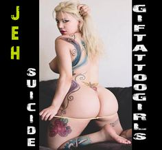 Jeh Suicide - Modelo SuicideGirls