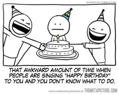 don't sing happy birthday to me. i hate it. #introvert #infj