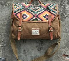 Buy India Leisure men's and women's single shoulder bag Leather Canvas Messenger Bag Washed Canvas Bag Camera Bag Laptop Bag 1089 at Wish - Shopping Made Fun Womens Messenger Bag, Canvas Messenger Bag, Crossbody Messenger Bag, Canvas Backpack, Satchel Bag, Fashion Bags, Fashion Accessories, Mk Bags, Canvas Leather
