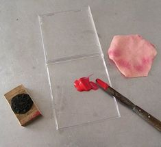 Make your own stamp pad