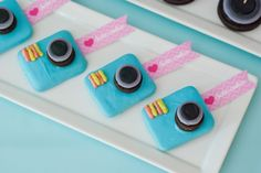 instagram cookies cameras for an Instagram party!