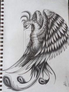 Beautiful Phoenix tattoo idea