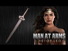 Man at Arms: Reforged Creates Wonder Woman's Indestructible Sword Wonder Woman Y Superman, Wonder Woman Movie, Wonder Woman Cosplay, Awe Me, Video Game Music, Cosplay Tutorial, Gal Gadot, Videos Funny, Blacksmithing