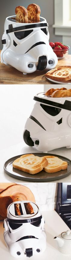 Star Wars Stormtrooper Toaster - #starwars #toaster #kitchen #home