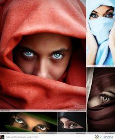 Eyes behind the Veil