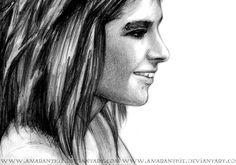 Bill Kaulitz by Amaranthie on DeviantArt