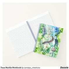 Faux Marble Notebook Fancy Notebooks, Stationary Supplies, Inside Design, Notebook Covers, Sewing Rooms, Dog Design, Nursery Wall Art, School Supplies, Paper Products