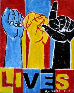 Nancy Rourke Paintings — Deaf Culture: ASL Lives