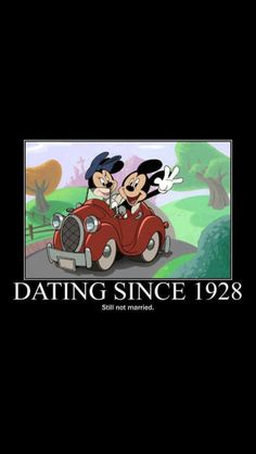 """DATING since 1928"" ... ""Still not married."" http://media-cache-ec0.pinimg.com/originals/ef/2c/de/ef2cdec7ba2c701c7c00f6f10740f4c1.jpg"