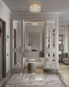 Home Room Design, Home Interior Design, Living Room Designs, House Design, Master Bedroom Interior, Modern Bedroom, Dressing Room Design, Contemporary Interior Design, Apartment Living