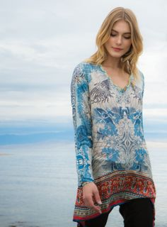 Currency Tunic Multi by Johnny Was
