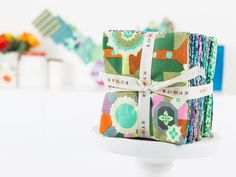 Playful and pretty as can be, Glow by Amy Butler delivers a rainbow of color and pattern. Your Fat Quarter Bundle features a vibrant fusion of Japanese-inspired folk prints, graphic florals and flowing organic forms, all in Amy's signature modern style.     Shop >>> craftsy.me/1zp0XCu