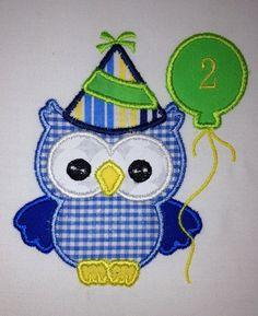 Children's Baby Infant Boy's Happy Birthday by DarlingPeaches, $15.00