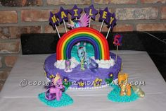 Coolest My Little Pony Birthday Cake... This website is the Pinterest of birthday cake ideas