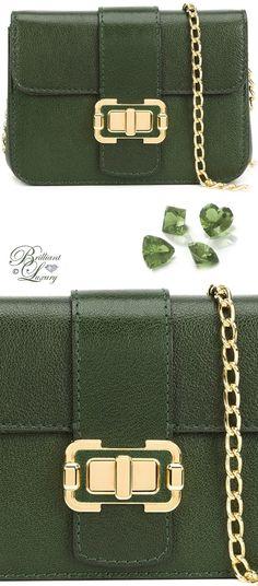 Brilliant Luxury by Emmy DE ♦ Monique Lhuillier Small 'Bianca' Shoulder Bag