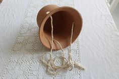 Hey, I found this really awesome Etsy listing at https://www.etsy.com/listing/450452150/plant-hanger-made-from-rope-with-clay
