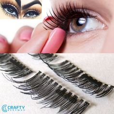 Soft and Natural Mink Look Magnetic Eyelashes in 5 Styles / 4 Pcs Set NO MORE GLUE