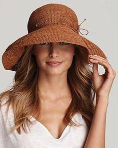 Helen Kaminski Crochet Hat