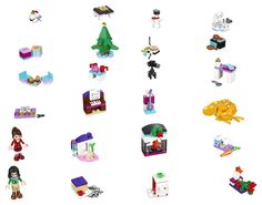 Lego Friends - 41131 - Le Calendrier De L'avent: Amazon.fr: Jeux et Jouets