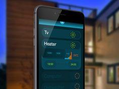 Apple Homekit HOMEE iOS App by ufuk aydın