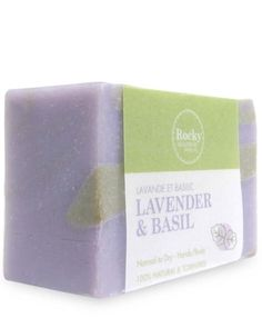 This Lavender & Basil Soap bar is nourishing for the skin with all the amazing benefits of these essential oils. We only use fresh, natural ingredients.