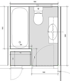 Bathroom Floor Plans with Measurements Small Space Ideas