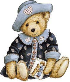 Image du Blog ancoco.centerblog.net Tatty Teddy, Teddy Bear Drawing, Teddy Bear Cartoon, Vintage Teddy Bears, Cute Teddy Bears, Cute Images, Cute Pictures, Photo Ours, Art D'ours