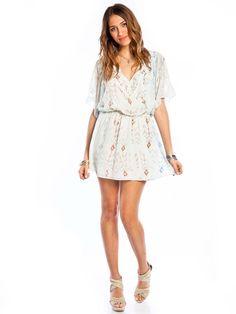 Altar Flutter Mini Dress