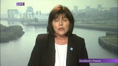 Jeane Freeman (WFI) interviewed by Andrew Neil, journalist, worried about polls narrowing. Jeane gives a very clear explanation why staying in the union puts the Scottish NHS at risk.
