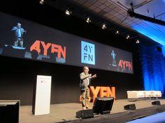 Aleix Valls of Mobile World Capital at 4YFN during Mobile World Congress Barcelona - Barcinno