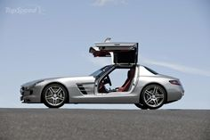 2012 Mercedes-Benz SLS AMG, Behind one of these in Delray Beach yesterday