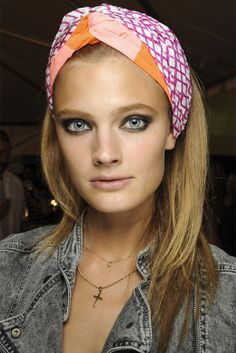 Constance Jablonski - Marc by Marc Jacobs Spring 2013 Ready-To-Wear Fashion Show Backstage in NYC September 2012