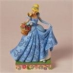 Spring Romance-Cinderella Spring Figurine from Feature Film Characters - Jim Shore Store